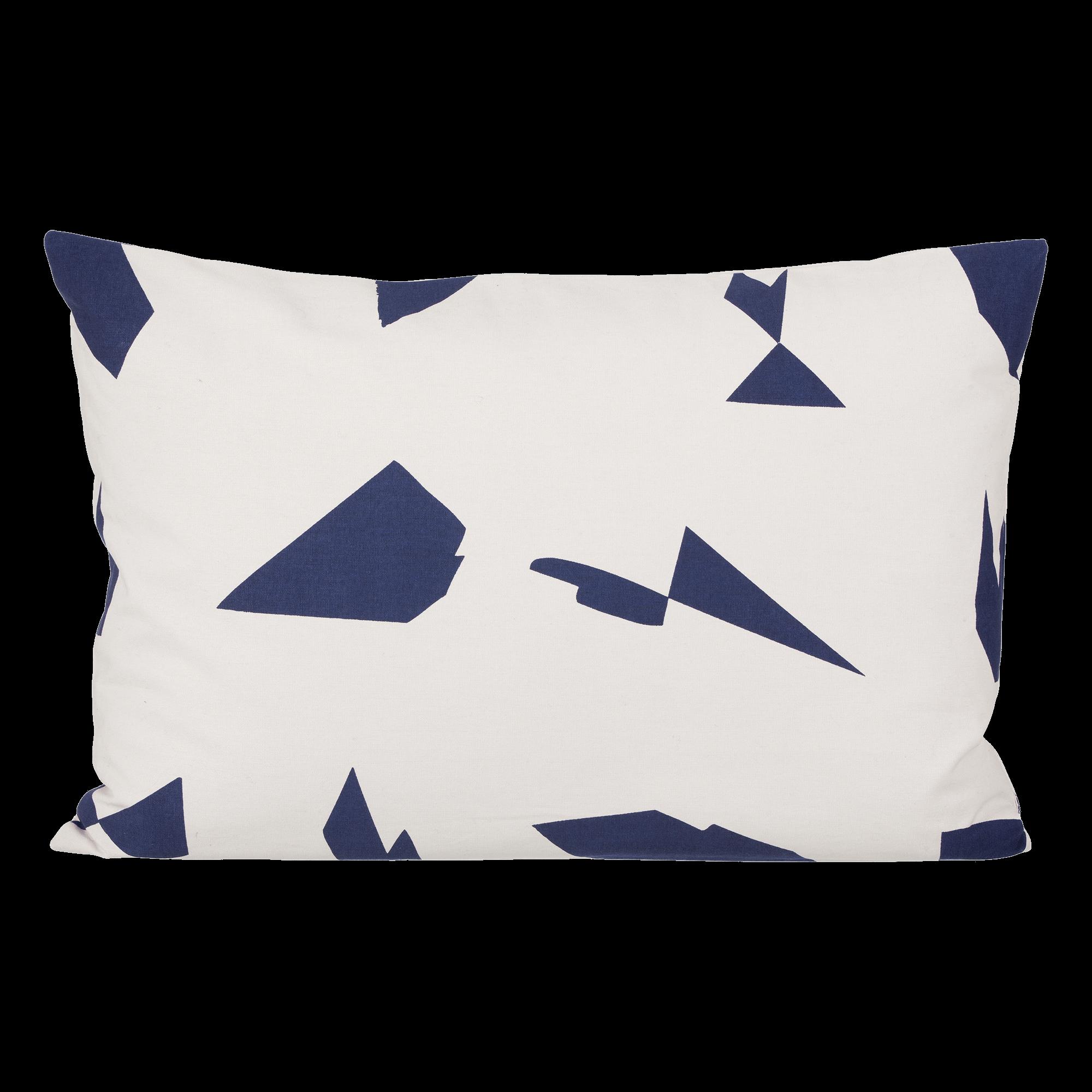 Cut cushion - off-white