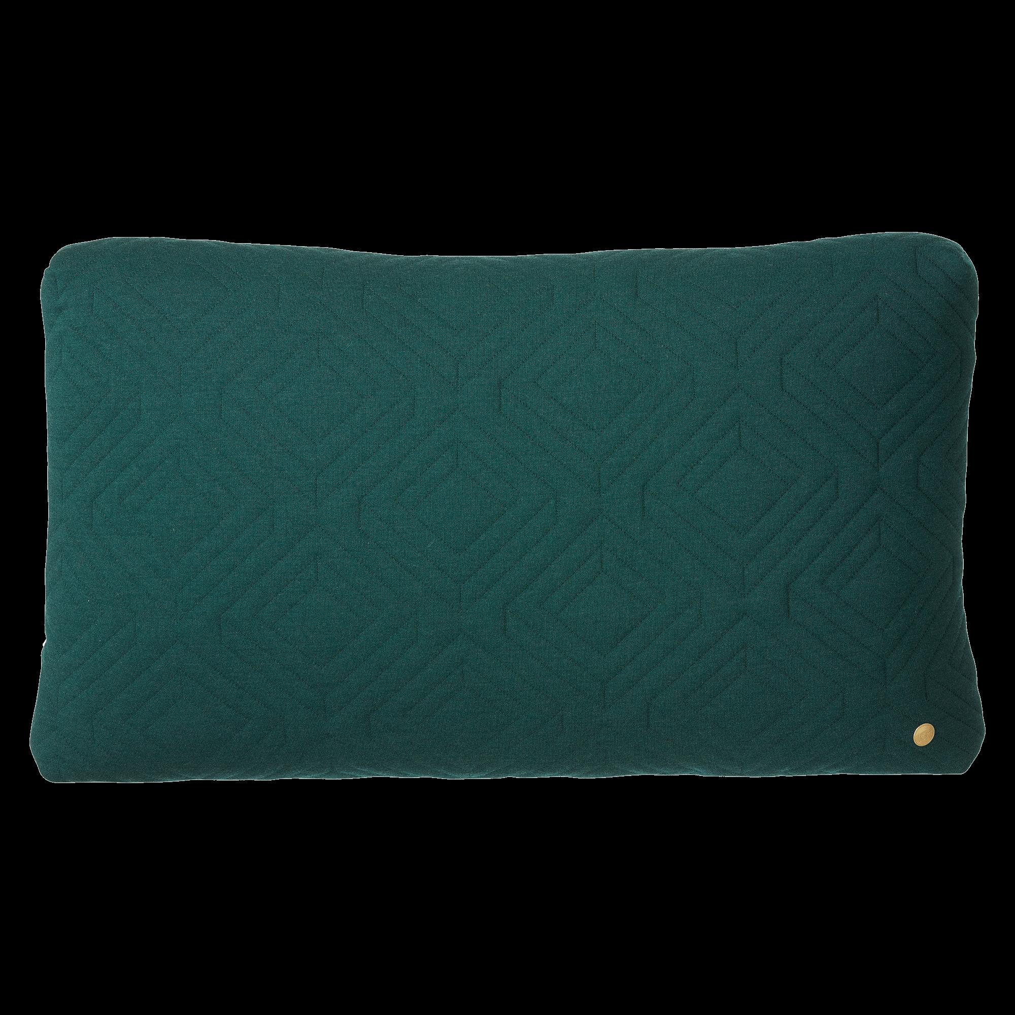 Quilt cushion - green