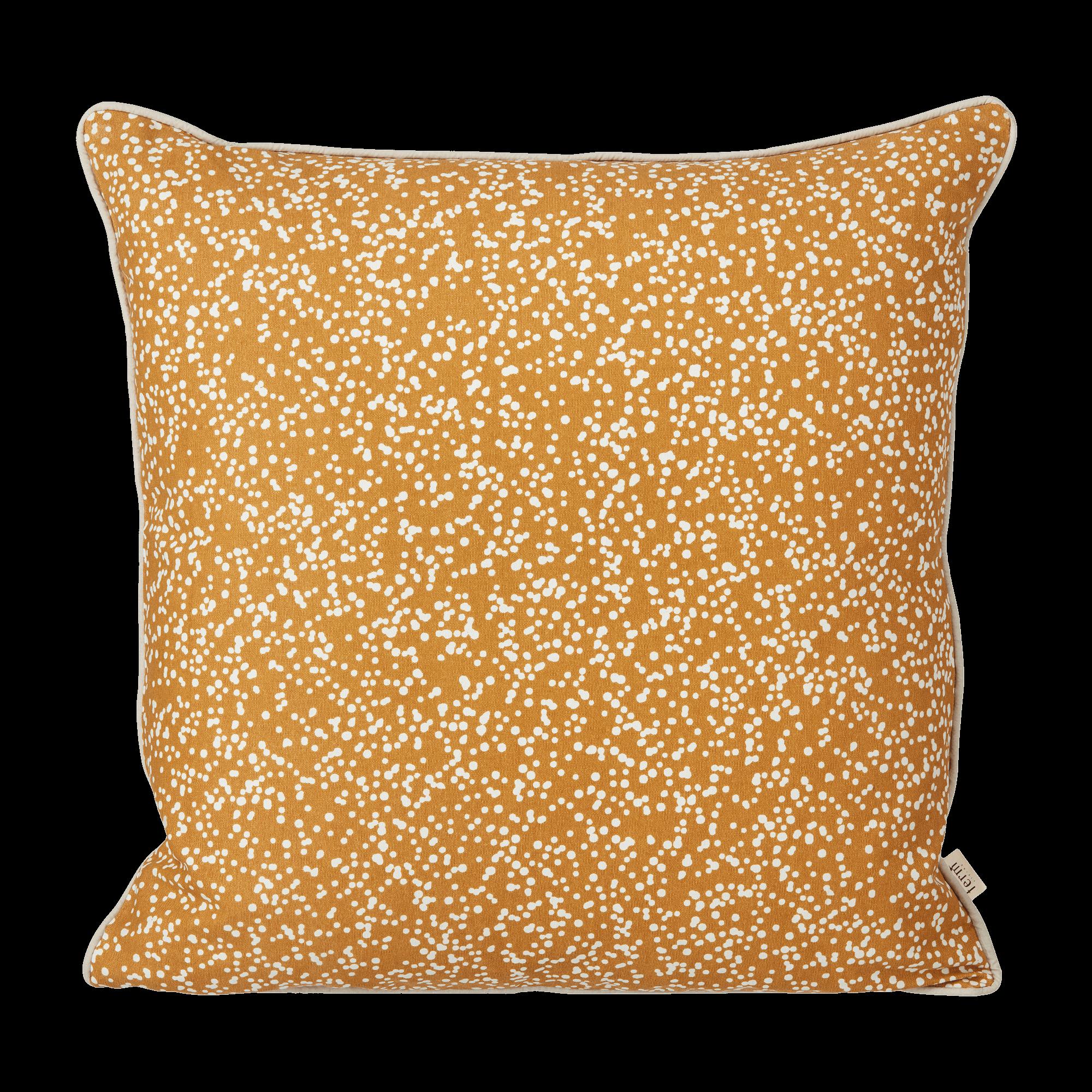 Dottery cushion